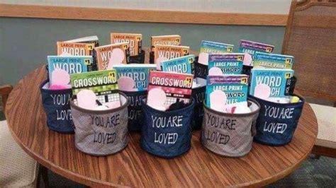 good   sponser  gift  nursing home