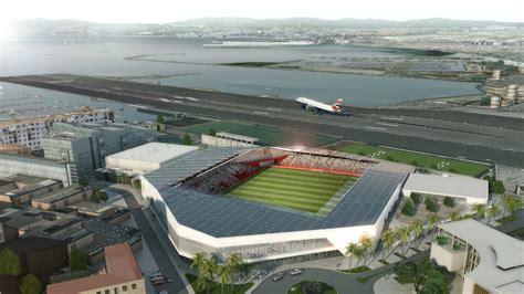 gibraltar plans football stadium