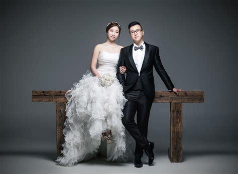 classic  timeless korean studio pre wedding photoshoot