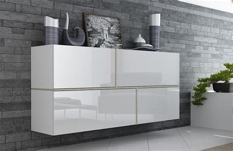 Romantic Bedroom Furniture Sets by White Sideboard Cabinet Goya High Gloss