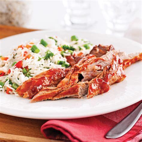 cuisine à la mijoteuse filets de porc sucrés à la mijoteuse recettes cuisine