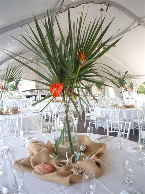 inspiration centre de table tropical deco mariage deco