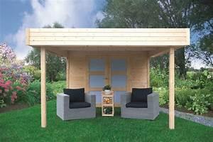 Gartenhaus Mit Vordach : gartenhaus mit vordach pirum s8322 28 mm blockbohlenhaus grundfl che 8 64 m flachdach ~ Udekor.club Haus und Dekorationen