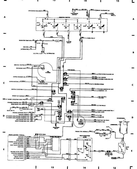 Coil Wiring For 97 Jeep 1997 jeep grand trailer wiring diagram trailer