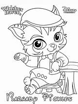 Barnaby Whisker Haven Coloring Pickles Printable sketch template