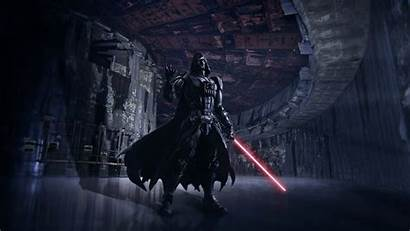 Vader Darth Wars Star Photoshop Adobe Scene