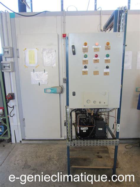 condensation chambre froid16 le 2e montage partie 3 la mise en service du groupe de condensation hermétique e