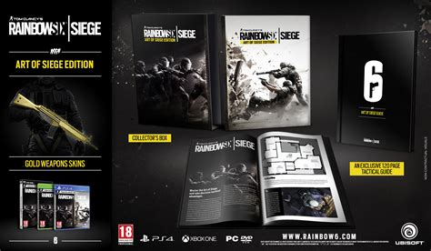 siege but tom clancys rainbow six siege collectors edition