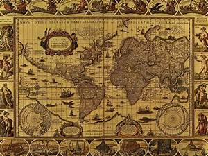 Vintage Map Wallpapers - Wallpaper Cave