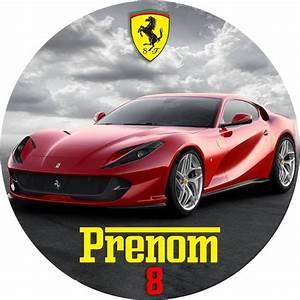 Photos De Ferrari : impression alimentaire personnalis voitures ferrari cake design ~ Maxctalentgroup.com Avis de Voitures