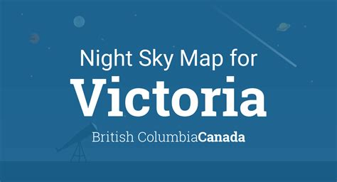 night sky map planets visible tonight  victoria