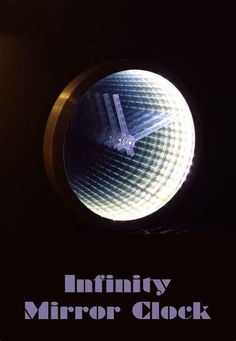 infinity mirror clock making infinity mirror  infinity
