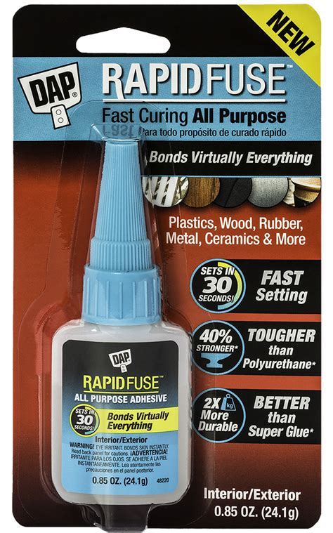 rapid fuse  purpose adhesive dap