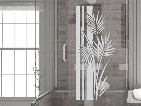 Aufkleber Bad by Glasdekor Fensterfolie Aufkleber Sichtschutz Bad Dusche