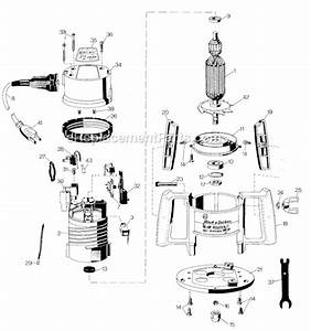 Black And Decker 7604 Parts List And Diagram