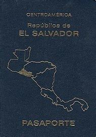 salvadoran passport wikipedia