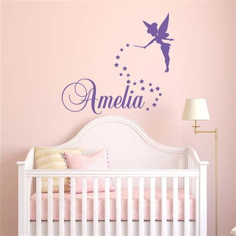 Bedroom Names by Wall Decal Personalized Name Name Bedroom Wall