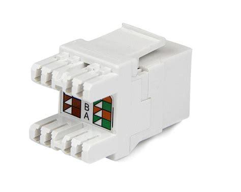 Ethernet Keystone Wiring by Cat6 Keystone Rj45 Ethernet 180 Degree 110 Type