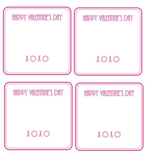 valentines card template zakka cards with necklaces