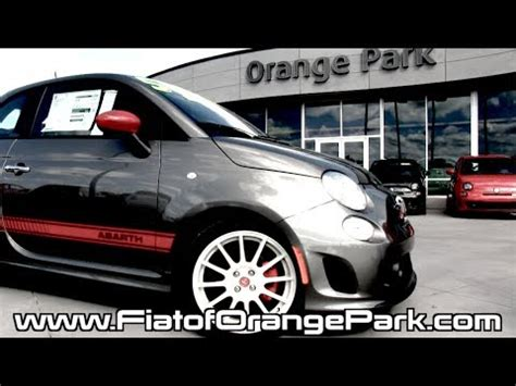 Fiat Of Orange Park by Fiat 500 Abarth Test Drive From Fiat Of Orange Park