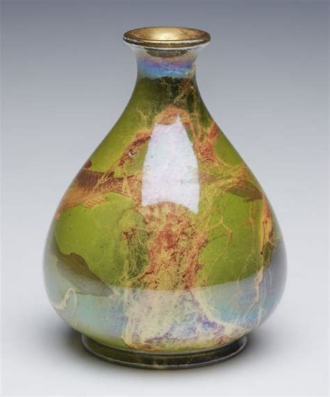 Wilkinsons Vases by Antique Wilkinson Oriflamme Fish Vase Butler C 1900