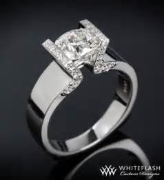 tension setting engagement ring tension engagement rings jewelry engagement rings and brides