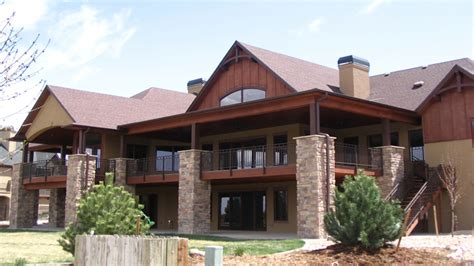 mountain house plans with walkout basement mountain ranch