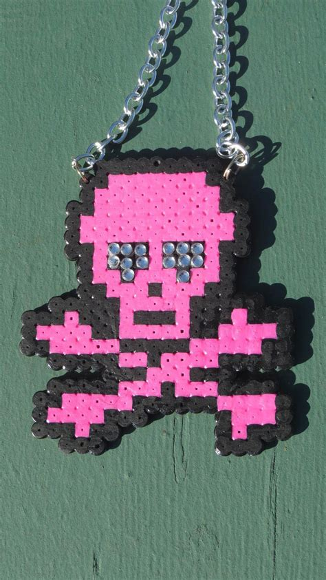 awesome perler bead creations  pair  pegboard bead