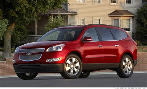 Top Value Cars by Best Resale Value Cars Size Suv Chevrolet Traverse