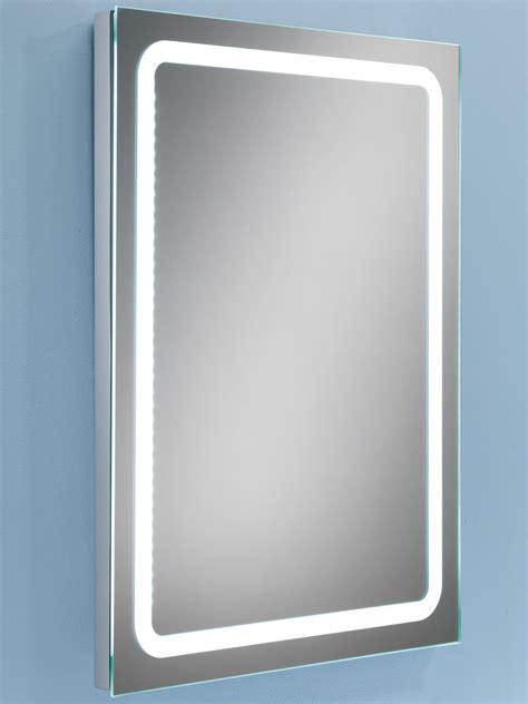 Bathroom Mirror Steam Free by Hib Scarlet Steam Free Led Back Lit Bathroom Mirror 800 X