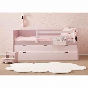 Lit Bébé Avec Tiroir : lit avec tiroir lit et 3 tiroirs de rangement bahia block ~ Melissatoandfro.com Idées de Décoration