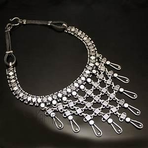 bijoux indiens ethniques collier en argent mix 09 plastron With bijoux ethniques argent