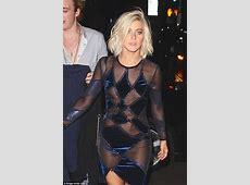 Julianne Hough suffers a nip slip and nearly tumbles