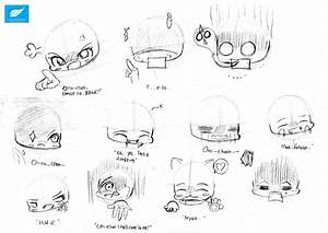 Chibi Expression 2 by laurentiusmark93 on DeviantArt