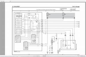 Toyota Highlander 2014-2018 Electrical Wiring Diagram