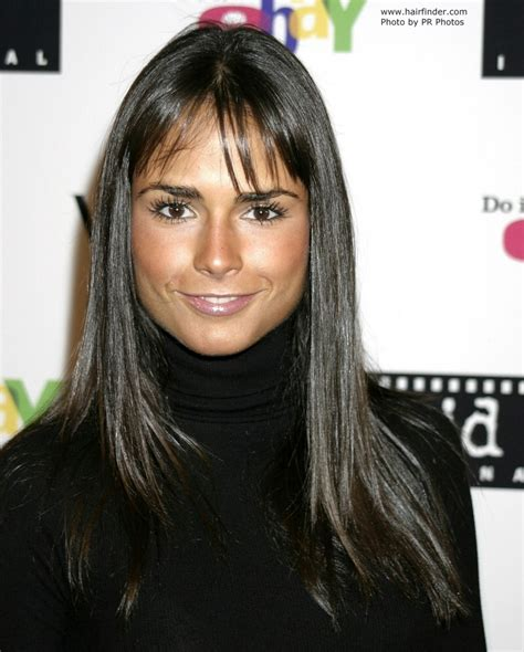 Black Hair by Jordana Brewster With And Shiny Black Hair