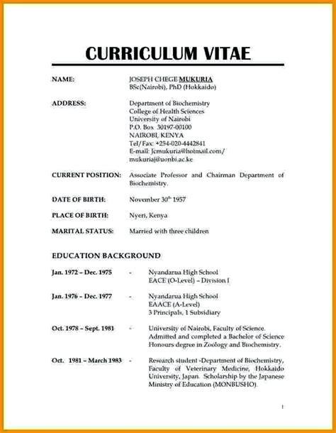 resume cv sample australia hhrma job career bali