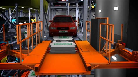 Fata Shuttle Automated Parking System Project