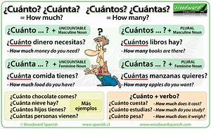 How Much How Many In Spanish Cuántos Woodward Spanish
