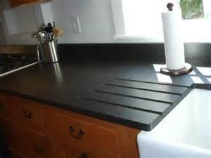 thinking of honed black granite or bad idea