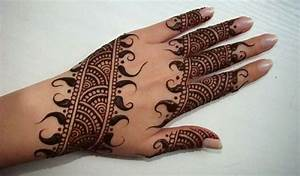 Beautiful Simple Arabic Hands Mehndi Designs 2014 2015 for Eid