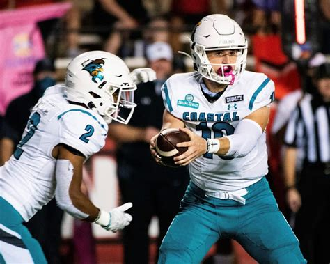 No. 25 Coastal Carolina plays 1st as ranked team vs ...