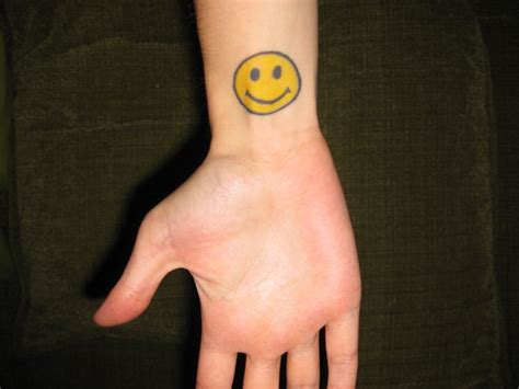 smiley face tattoos designs idea  meanings tattoos
