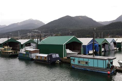 Juneau Houseboat why living on a boat provides the best of juneau at an