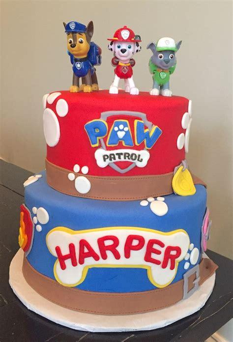 paw patrol birthday cake birthday cakes