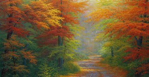 Bob Ross Spring Paintings