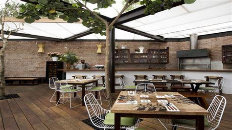 restaurant open kitchen interior design garden restaurant