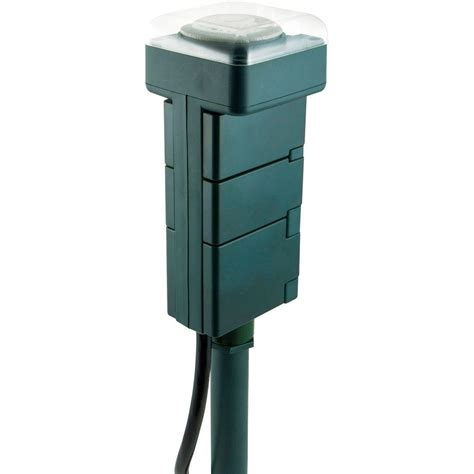 outdoor ls home depot ge outdoor stake timer 29972 the home depot