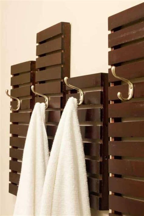 genius diy towel rack ideas  handymans daughter