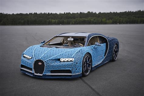 What Company Made Bugatti by Lego Built A Drivable Bugatti Chiron With 1 Million